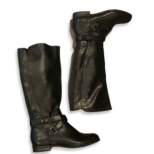 Black Merona Riding Boots